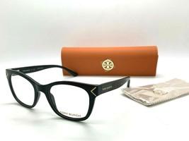 Tory Burch TY 4003 1377 BLACK 49-19-135MM SMALL Eyeglasses Frame /CASE - $77.56