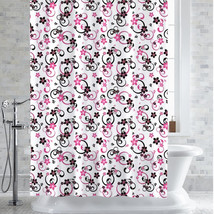 "PEVA-EVA Shower Curtain/Liner Adriana Floral Print 70"" x 72"" - $11.09"