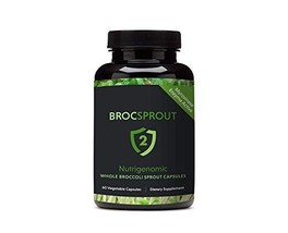 BROC SPROUT 2 - Whole Broccoli Sprout Capsules image 1