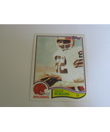 1982 CLEVELAND BROWNS TRADING CARD..#67 OZZIE NEWSOME - $5.50