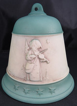 Vintage Hummel Goebel Christmas Bell Ornament 1997 Thanksgiving Prayer 3... - $15.00