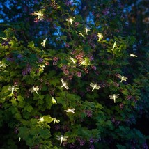 DRAGONFLY solar powered 20 LED outdoor garden String party FAIRY lights ... - $19.82