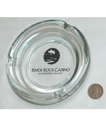 RARE River Rock Casino Alexander Valley CA Clear Glass Cigarette Cigar A... - $15.80