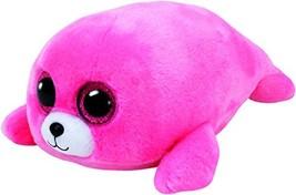 Ty Beanie Boos Pierre the Seal - Medium Pink - $12.54