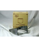 Pampered Chef Stainless Steel Pastry Blender In Box - $10.70