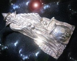 Haunted Necklace Sorcerer's Healing Of All Voids & Leaks Ooak Magick Power - $9,097.77