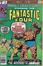 Marvel's Greatest Comics Comic Book #87 Fantastic Four 1980 VERY FINE/NE... - $4.50