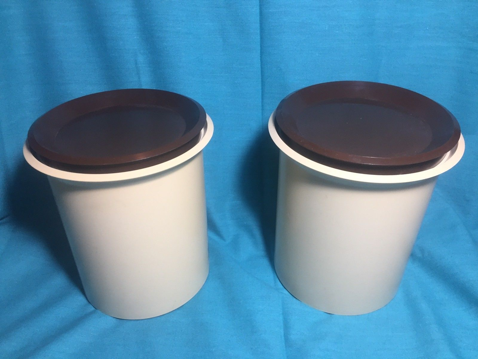 Vintage 70\'s Plastic Kitchen Canister Set and 50 similar items