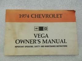 1974 VEGA Owners Manual 16034 - $18.76