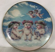 Dreamsicles The Flying Lesson 1994 Collector Plate by Hamilton Collection - $9.89