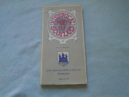 John Bartholomew historical map of scotland - $7.69