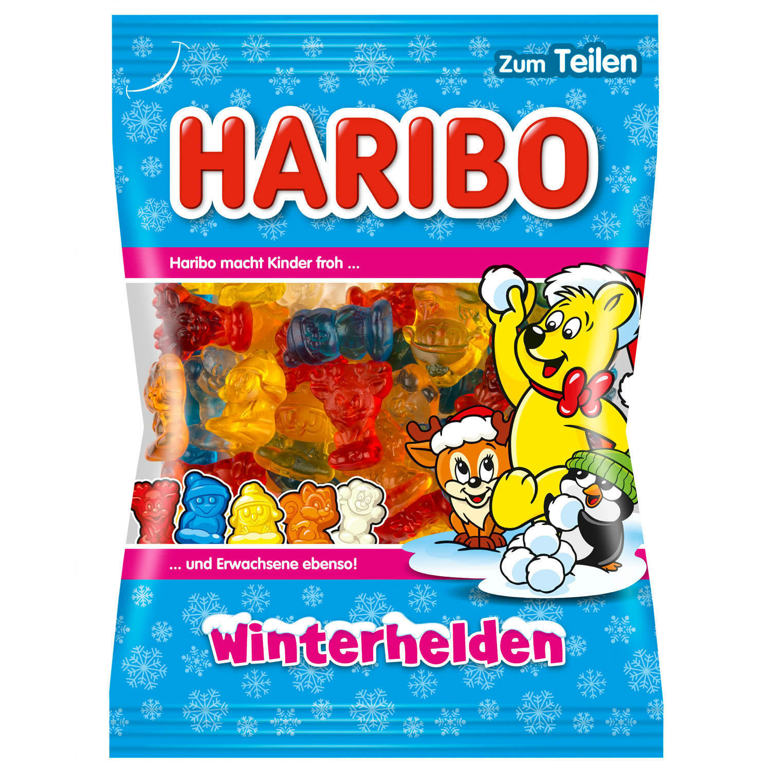 Primary image for HARIBO WINTERHELDEN Winter Heroes Christmas gummy bears 175g-FREE SHIPPING