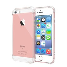 For IPHONE 5 Clear Case Cover Shockproof Protective TPU Bumper - $12.00