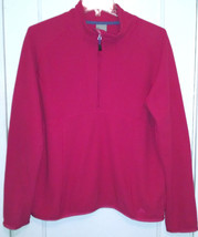 Nike Fit Therma-ACG 1/3 Zip Dark Pink Pullover Size Large - $13.55