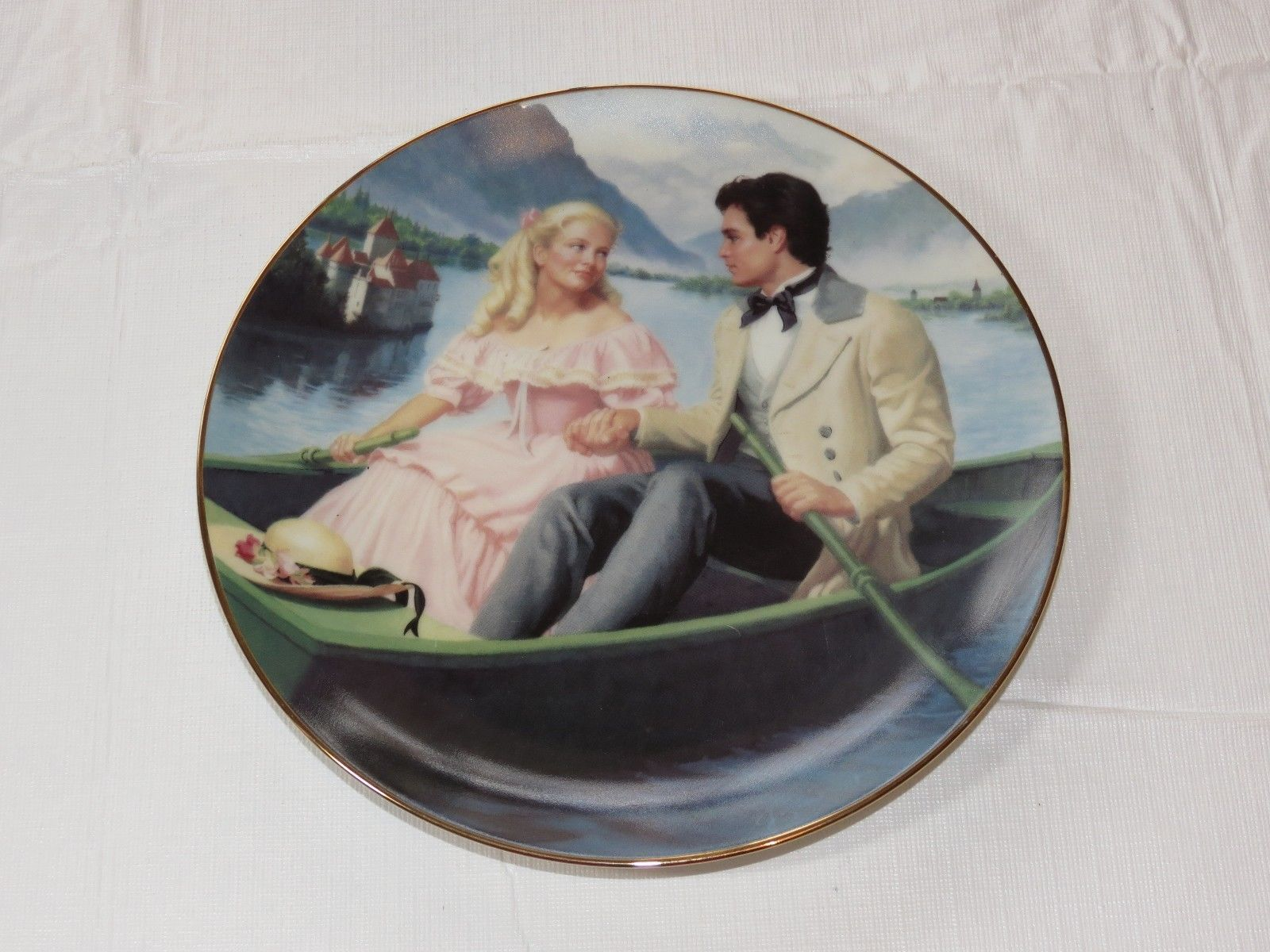 Laurie's Proposal Elaine Gignilliat Little Women Danbury Mint Collector Plate ~