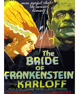 Decoration Poster.Room interior wall.Art decor.Bride of Frankenstein mov... - $10.89+