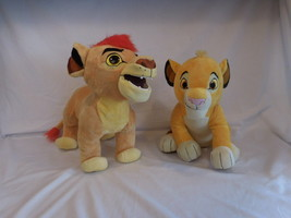 Disney LION KING Guard Plush TALKING KION Roars + Simba Cub Stuff Animal - $18.02
