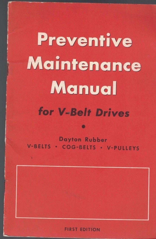dayton rubber 1957 booklet preventive and similar items rh bonanza com Car Repair Manual Online Maintenance Person