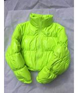 Bubble Puffer Jacket 2019 Winter Coat Women Lime Green Pink Yellow Red B... - $73.41+