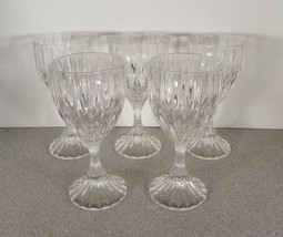 Mikasa Crystal PARK LANE Wine Goblet (s) LOT OF 5 Made in Germany Glass - $59.35