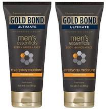 Gold Bond Men's Essentials Everyday Moisture Hydrating Cream 2 Pack - $17.77
