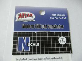 Atlas # BLMA16 Modern EMD Cab Sunshades (2 Pair) N-Scale image 4