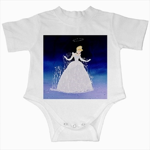 Primary image for Cinderella princess infants baby creeper bodysuit romper newborn jumpsuit