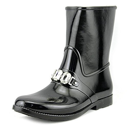 Michael Michael Kors Leslie Rainbootie Women US 10 Black Rain Boot