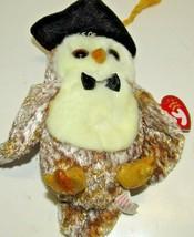 """TY Beanie Baby """"Smarter"""" Owl 2002 - $7.83"""