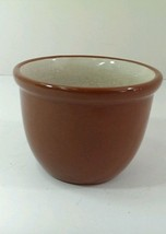 Vintage Weller Pottery Small Redware cup dish bowl bean cup - $14.84