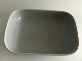 "Vintage Franciscan Pottery Dish Bowl 8.5""X 6"" X 2.5""California~USA Gray - $12.41"