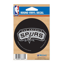 TWO San Antonio Spurs  NBA  Decal 3x3 by Wincraft FREE SHIPPING - $4.99