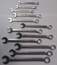 Kobalt 22907 - 22919 12 Piece Metric Combination Wrench Set 12 Point USA - $32.67