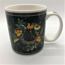 Hilo Hattie Coffee Cup Mug 2002 Hawaii Big Island Heritage Volcano Lava ... - $7.87