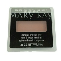 Mary Kay Golden Copper Mineral Cheek Color Discontinued .18 Oz - $14.46