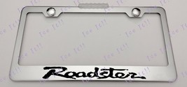 Mazda Roadster Stainless Steel License Plate Frame Rust Free W/ Bolt Caps - $12.86