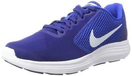 Men's Nike Revolution 3 Running Shoes, 819300 407 Multi Sizes Deep Royal... - $69.95