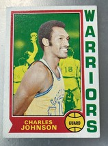 1974-75 Topps #14 Charles Johnson Warriors - $0.98