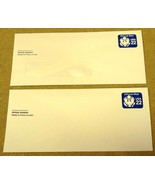 USPS Scott UO074 22c Legal Envelope Official Mail Lot of 2 Blue - $6.41