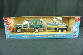 Warner Bros. 1997 Studio Store Toy Looney Tunes Sport Truck Tweety & Sylvester - $49.95