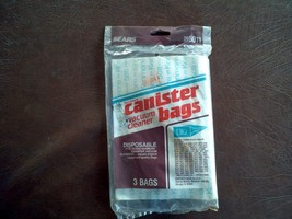 Kenmore Sears Disposable Canister Vacuum Cleaner Bags 20-5011 New - $11.88