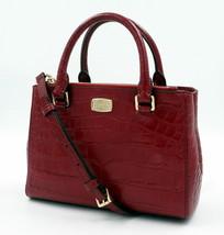 NWT Michael Kors S. Kellen Cherry Embossed Leather Satchel + 25% off next order - $217.92