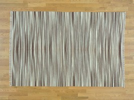 """5'5""""x8'2"""" Reversible Durie Kilim Pure Wool Hand Woven Flat Weave Rug G30107 - $249.10"""