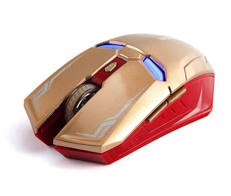 Mouse Iroman Wireless Optical Mice Laptop Usb 4ghz Receiver Gaming Mac Computer