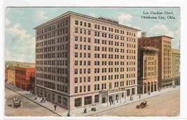 Lee Huckins Hotel Oklahoma City 1910c postcard - $4.46