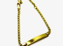 Bracelet Yellow Gold 18kt Boys Girls - $258.77