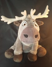 Disney Frozen Sven Reindeer Plush Stuffed Animal 3+ Gray Medium  USA Seller - $16.39