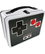 Nintendo Game Power Controller Image Carry All Tin Tote Lunchbox NEW UNUSED - $16.40