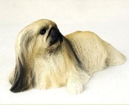 PEKINGESE  MY  DOG  Figurine Statue Pet Lovers Gift Resin Hand Painted - $29.95