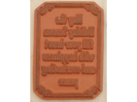 Inkadinkado Holiday Season Wood Mounted Rubber Stamp #96116 image 2